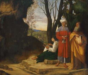 Giorgione - Three_Philosophers [Google_Art_Project]